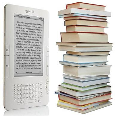 Kindle-vs-books