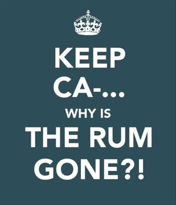 why-is-the-rum-gone